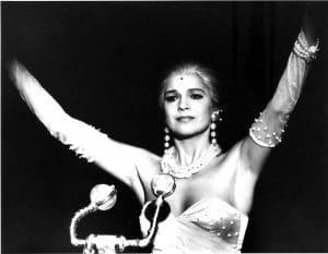 """Beatrice Fischer als """"Evita"""""""