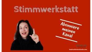 Beatrice Fischer-Stracke, Stimmtrainerin, Coach und Werbetexterin - 3-Säulen-Kommunikationskonzept