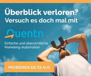 Quentn - E-Mail-Marketing der Spitzenklasse